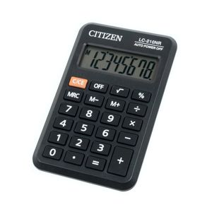 CALCULADORA CITIZEN LC-210N 8 DIGITOS BOLSILLO