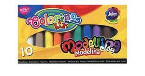 PLASTILINA 10 COLORES COLORINO KIDS MODELLING CLAY