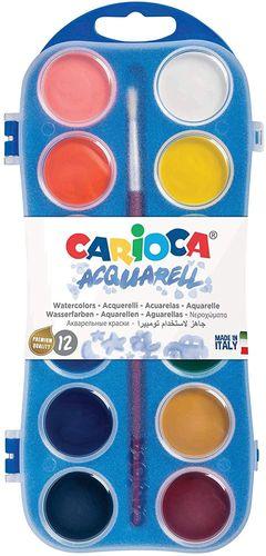 CAJA ACUARELAS 12 CARIOCA 42400