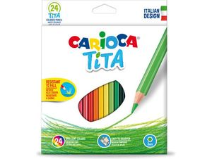 CREYONES CARIOCA 24 COLORES TITA LAPICES