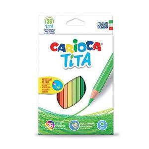 CREYONES CARIOCA 36 COLORES TITA LAPICES