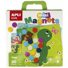 CAJA 30 IMANES MINI MAGNETS FIELD APLI KIDS 16873