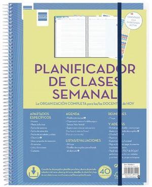 PLANIFICADOR CLASES SEMANAL FINOCAM SV 5340400