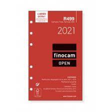 R499 RECAMBIO AGENDA FINOCAM SV 400 VERTICAL 2021