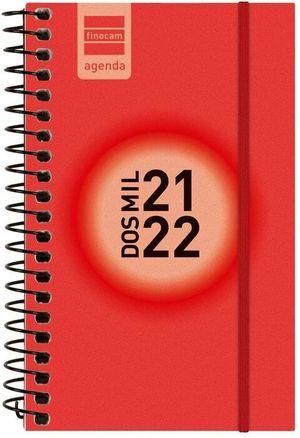 AGENDA ESCOLAR ESPIR E3 SV ROJO 2021-22 FINOCAM