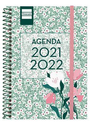 AGENDA ESCOLAR 1/8 SV 2021-22 FLORAL FINOCAM