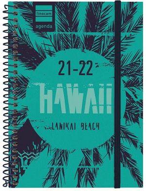 AGENDA ESCOLAR 1/8 SV 2021-22 HAWAII FINOCAM