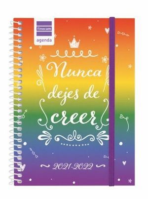 AGENDA ESCOLAR 1/8 SV 2021-22 NUNCA DEJES DE CREER FINOCAM