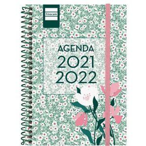 AGENDA ESCOLAR 1/8 1DP 2021-22 FLORAL FINOCAM