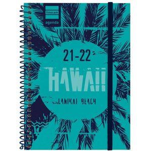 AGENDA ESCOLAR 1/8 1DP 2021-22 HAWAII FINOCAM