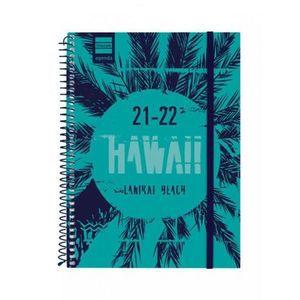 AGENDA ESCOLAR 1/4 SV 2021-22 HAWAII FINOCAM