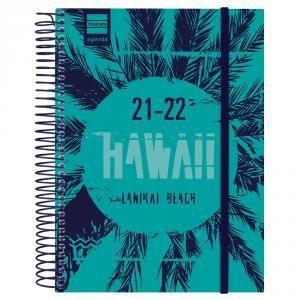 AGENDA ESCOLAR 1/4 1DP 2021-22 HAWAII FINOCAM