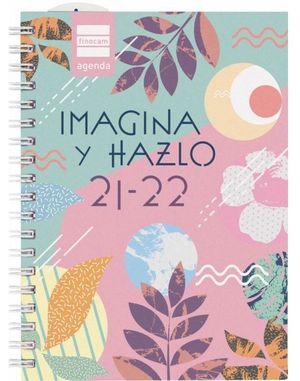 AGENDA ESCOLAR MINI-INSTITUT 1/8 2DP HAZLO 2021-22 FINOCAM