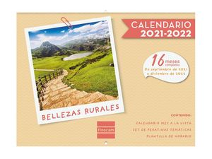CALENDARIO FINOCAM 16M PARED BELLEZAS RURALES 2021-22