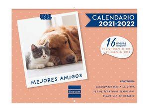 CALENDARIO FINOCAM 16M PARED MEJORES AMIGOS 2021-22