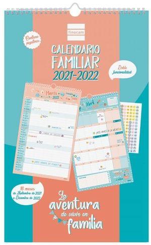 CALENDARIO FINOCAM 16M FAMILIAR BASIC 2021-22