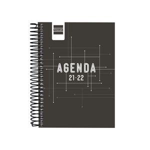 AGENDA ESCOLAR COOL 1/8 1DP 2021-22 NEGRO FINOCAM