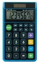 CALCULADORA BOLSILLO PLUS OFFICE 8D SS-165 AZUL