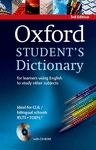 OXFORD STUDENT'S DICTIONARY (3RD ED) MONOLINGUE INGLES
