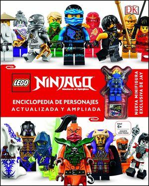 LEGO® NINJAGO ENCICLOPEDIA DE PERSONAJES ACTUALIZADA Y AMPLIADA
