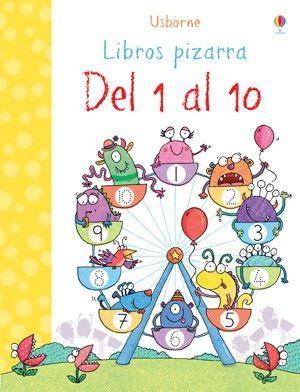 DEL 1 AL 10. LIBRO PIZARRA