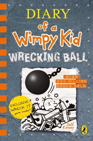 DIARY OF A WIMPY KID BOOK 14: WRECKING BALL