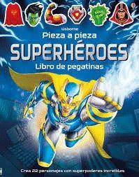 SUPERHEROES. PEGATINAS