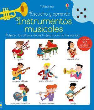 INSTRUMENTOS MUSICALES ESCUCHO Y APRENDO