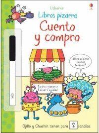 CUENTO Y COMPRO. LIBRO PIZARRA