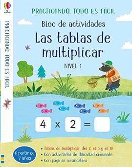 BLOC ACTIVIDADES TABLAS DE MULTIPLICAR