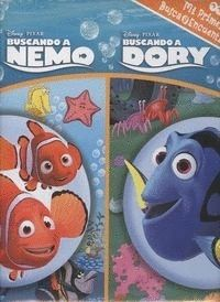 FINDING DORY-FINDING NEMO. BUSCA Y ENCUANTRA DORY NEMO