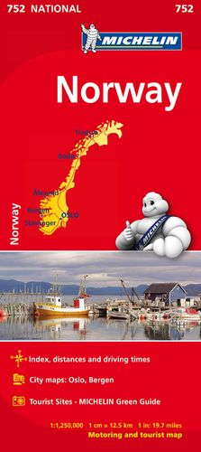 752 MAPA NATIONAL NORUEGA 2019 MICHELIN