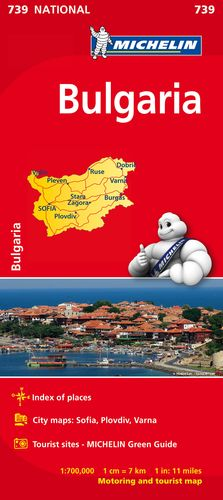 739 MAPA NATIONAL BULGARIA 2019 MICHELIN