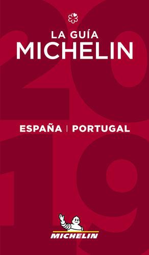 GUÍA MICHELIN ESPAÑA & PORTUGAL 2019 ROJA
