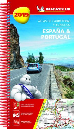ESPAÑA & PORTUGAL 2019 (ATLAS DE CARRETERAS Y TURÍSTICO )