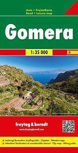 LA GOMERA 1:35.000 MAPA CARRETERAS FREYTAG