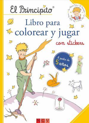 EL PRINCIPITO. LIBRO PARA COLOREAR Y JUGAR - Librería El Águila