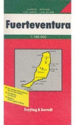 MAPA FUERTEVENTURA 1:100 000