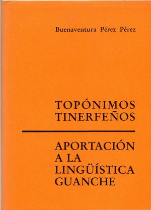 TOPONIMOS TINERFEÑOS