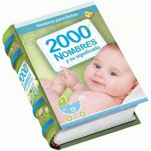 2000 NOMBRES Y SU SIGNIFICADO. MINIBOOK