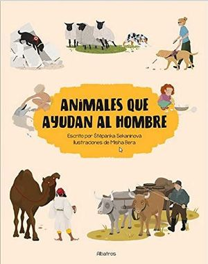 ANIMALES QUE AYUDAN AL HOMBRE