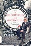 CONSTITUCIÓN DE ALFONSO USSÍA
