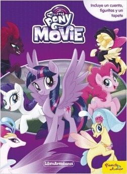 MY LITTLE PONY. THE MOVIE. LIBRO JUEGO