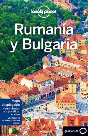RUMANÍA Y BULGARIA 2017 LONELY PLANET