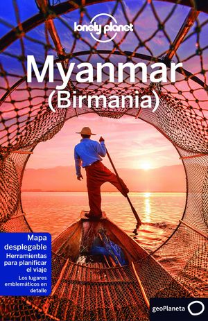 MYANMAR 2017 LONELY PLANET