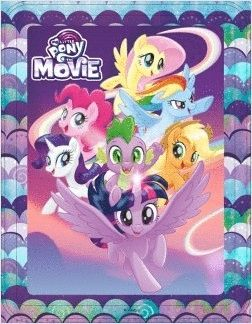 MY LITTLE PONY. THE MOVIE. CAJA METÁLICA