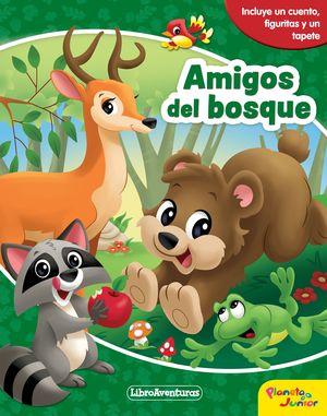 AMIGOS DEL BOSQUE. LIBROAVENTURAS