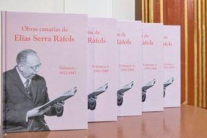 (5V) OBRAS CANARIAS DE ELÍAS SERRA RÀFOLS