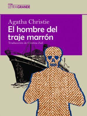 EL HOMBRE DEL TRAJE MARRÓN. LETRA GRANDE