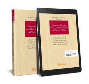 CONTRATOS MENORES EN LA LEY DE CONTRATOS DEL SECTOR PÚBLICO (PAPEL + E-BOOK) 2019